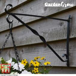 Garden Grow Hanging basket wall bracket 25cm x 36cm
