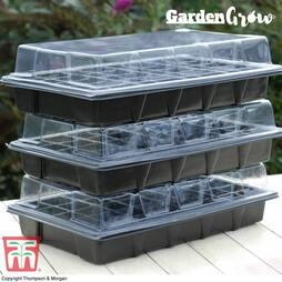 Garden Grow Plug and Seed Growing Tray
