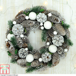 Artificial Pinecone Wreath - Gift