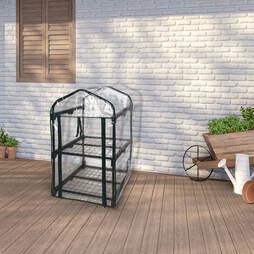 idooka 2-Tier Pop-up Mini Greenhouse