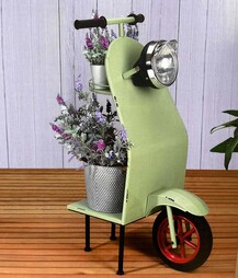 idooka Small Scooter End Tables Garden Decoration