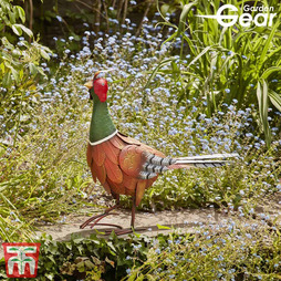 Metal Garden Ornament 'Pheasant' - Gift