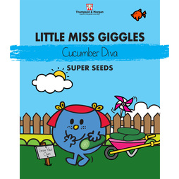 Little Miss Giggles - Cucumber 'Diva'