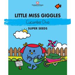Little Miss Giggles - Cucumber 'Diva'