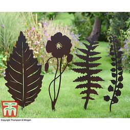 Rustic Heirloom Plant Supports