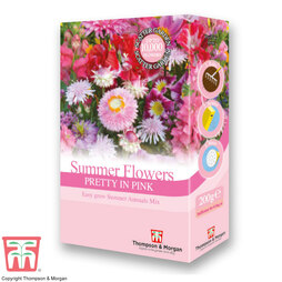 Summer Flowers Theme Pink Scatter Pack
