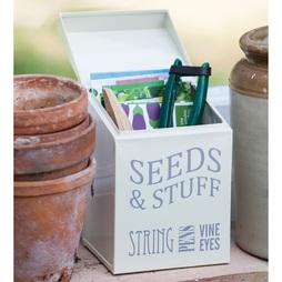 Seeds & Stuff Tin