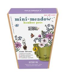 Seedball Bamboo Pots - Butterfly Mix