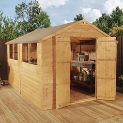 10 X 8 Waltons Overlap Shed
