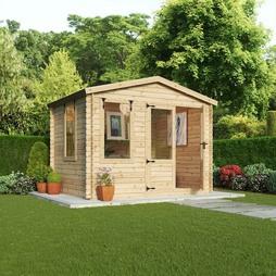 Waltons 3.3m x 3m Log Cabin Studio