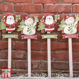 Christmas Garden Stakes - Gift
