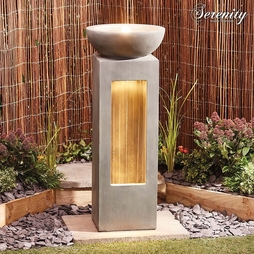 Serenity Light Up Water Feature - Gift