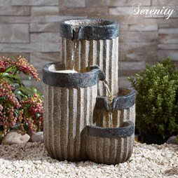 Serenity TableTop Cascading Vase Water Feature