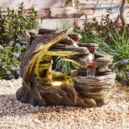 Serenity TableTop Nature Falls Water Feature