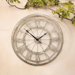 Wyegate ExtraLarge Roman Numeral Garden Clock ? 95cm
