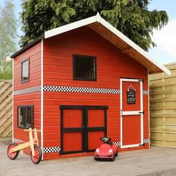 8x6 Garage Playhouse