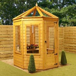 6 x 6 Waltons Octagonal Wooden Greenhouse