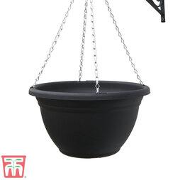 Black Hanging Basket