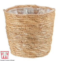 Osaka Straw Basket Pot