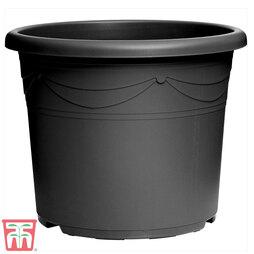 Sandra Graphite Grey Decorative Pot
