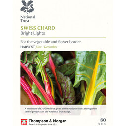Swiss Chard 'Bright Lights' (National Trust)
