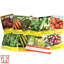 Easy Grow Nurserymans Choice Vegetable Seeds