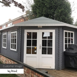 5 x 3 RS Lodge Grande Corner 34mm Single Glazed