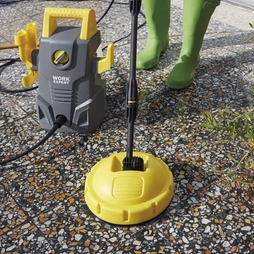 Patio Cleaner Brush and Turbo Nozzle