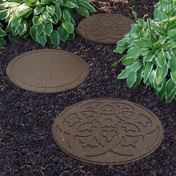 Reversible Eco-Friendly Stepping Stone Scroll - Earth