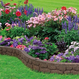 Ecofriendly Flexi Curve Rockwall Border Edging