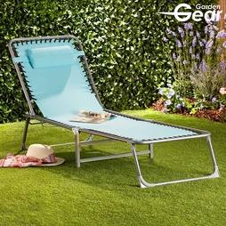 Garden Gear Zero Gravity Sun Lounger Marine