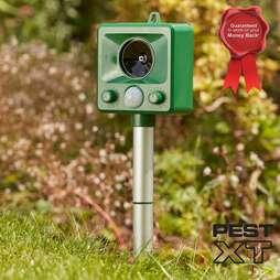 Pest XT Ultrasonic Battery Powered Cat Repeller Pack of 2